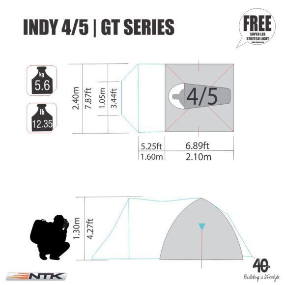 Indy NTK Tent 4/5