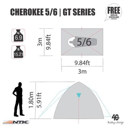 NTK Cherokee GT 5/6