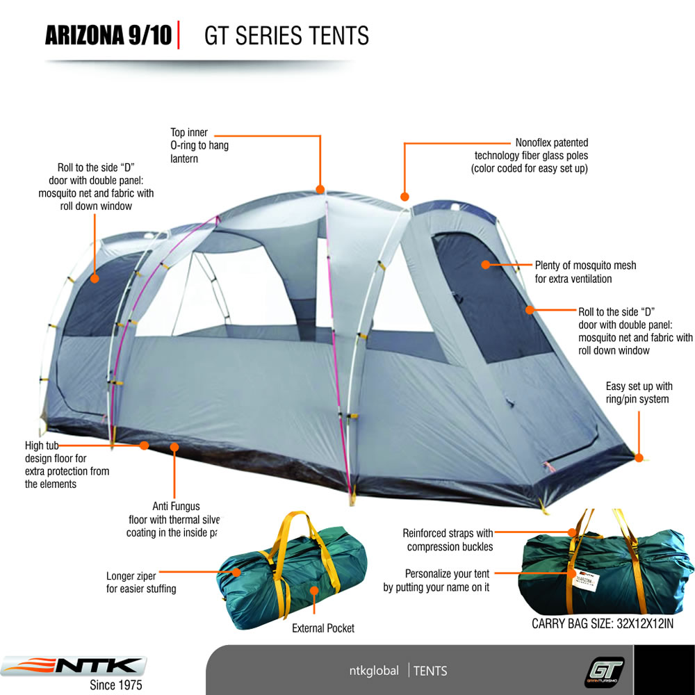 prev  sc 1 st  NTK Global & Arizona GT 9/10 Tent | NTK
