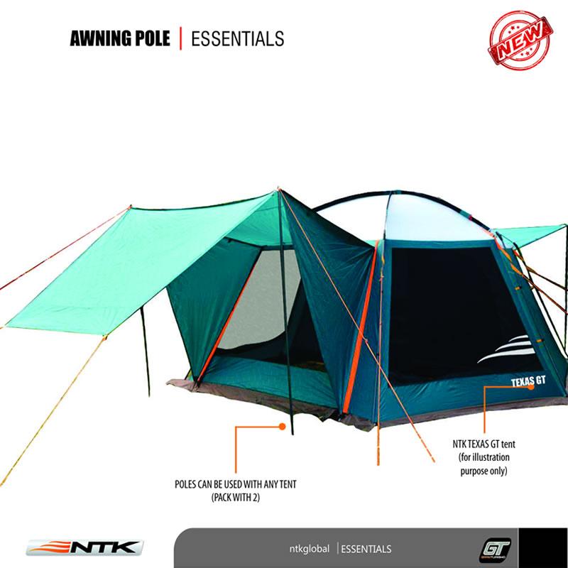 Awning Tarp And Tent Universal Poles