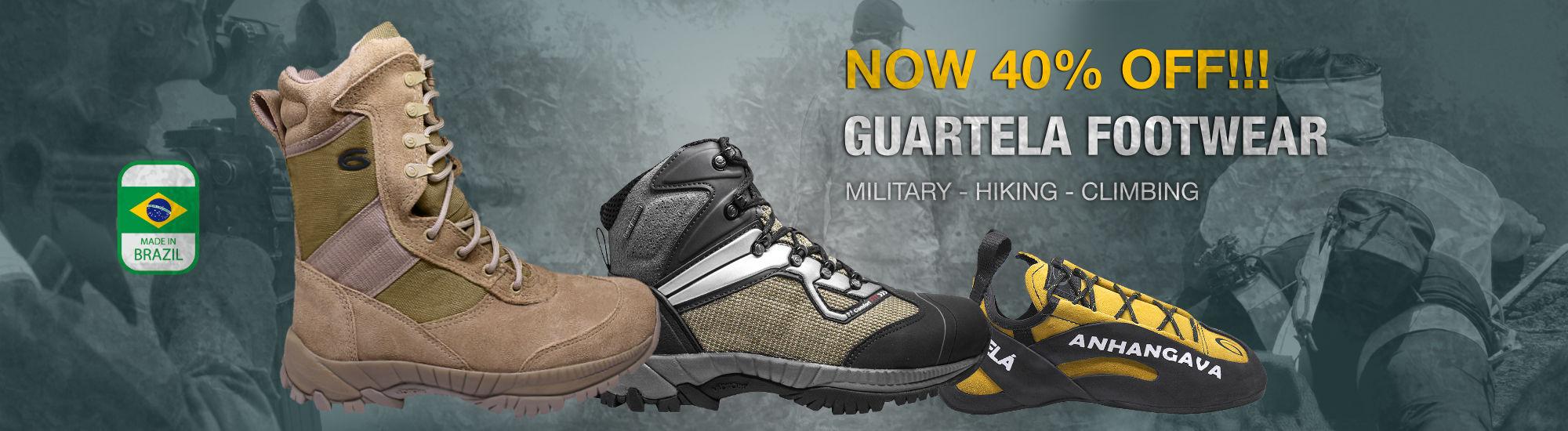 Military Hiking Climbing Footwear